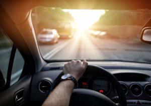 Man-Driving-Car
